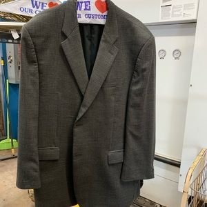 Dillard's made in Canada charcoal/black checks